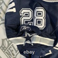 Darren Woodson Dallas Cowboys Game Issued Authentic Jersey, Navy Blue