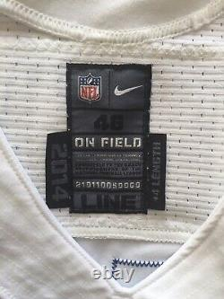 Darrion Weems Game Issued Worn Dallas Cowboys Football Jersey