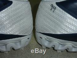 DeMarcus Ware Autographed Dallas Cowboys Game Issued Cleats Size 12.5 Navy