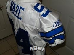 DeMarcus Ware Autographed Game Issued Dallas Cowboys Jersey Reebok 10-48