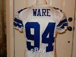 DeMarcus Ware Game Used Jersey & Pants withSocks Dallas Cowboys COA