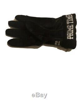 Deion Sanders game used dallas cowboys glove #21 hall of famer