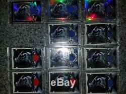 Demarcus Ware Rookie Autographed Game Used Upper Deck Bowman Sage Sp Topps Lot