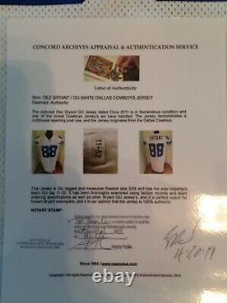 Dez Bryant Dallas Cowboys Game Used Worn Jersey CAAS LOA