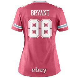 Dez Bryant Dallas Cowboys Jersey Pink Nike Women's Game NFL 2XL NICE! #88