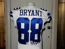 timeless design e329a 73c2b Dez Bryant Game Issued Jersey 2014-40 L-BK Dallas Cowboys COA