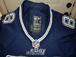 Dez Bryant Nike Game Used / Issued Jersey Dallas Cowboys COA 2013 40 SKILL