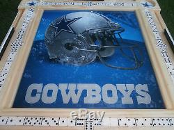 Domino Tables by Art with Dallas Cowboys Theme