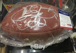 Emmitt Smith Autographed Superbowl XXVII 27 Game Football PSA COA