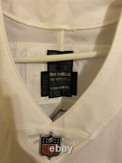 Ezekiel Elliott Dallas Cowboys Team Issued 2020 Size 42 LBK White Game Jersey