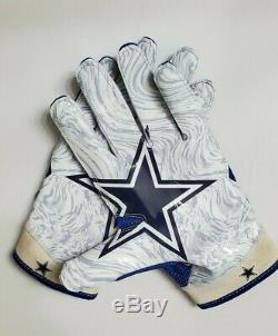 Ezekiel Elliott Game Used Dallas Cowboys Nike Gloves