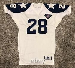 Game Issued Apex Dallas Cowboys Darren Woodson 1994 75th Throwback Jersey AUTO