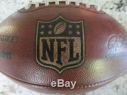 Game Used Dallas Cowboys Wilson NFL Leather Football! Great Game Ball