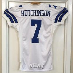 Game Used Issued Dallas Cowboys Chad Hutchinson Jersey