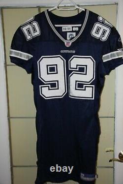 Game Worn Dallas Cowboys Jersey