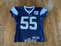 Game Worn Practice Worn Used Dallas Cowboys Jersey Vander Esch Jersey Number 55