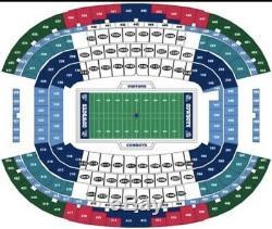 Houston Texans vs Dallas Cowboys 4 Tickets Pre Season Game. Option 4 Future Game