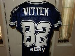 Jason Witten Dallas Cowboys CUSTOM Game Jersey 2010-56 with 50th year Patch