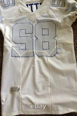 Jason Witten Game Issued White Nike Jersey From Dallas Cowboys, 2014 Season