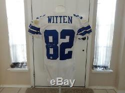 Jason Witten Game Used Autographed Dallas Cowboys Jersey Matched to Cardinals 06