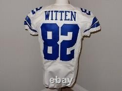 Jason Witten Game Worn / Issued Dallas Cowboys Nike Jersey 2012 Size 42 SKILL