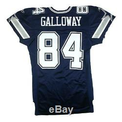Joey Galloway 2001 Game Used Dallas Cowboys Reebok Home Jersey