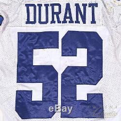 Justin Durant Dallas Cowboys Game Used Jersey 10/27/2014 vs Washington Redskins