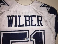 Kyle Wilber Dallas Cowboys Game Used Worn Color Rush Jersey Prova Great Use