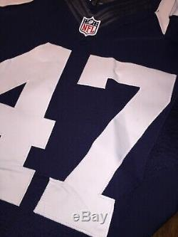 Lawrence Vickers Dallas Cowboys Game Used Worn Jersey 2012 Nike Throwback RARE