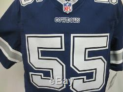 Leighton Vander Esch Dallas Cowboys Nike Elite Authentic $295 Game Jersey Sz 44