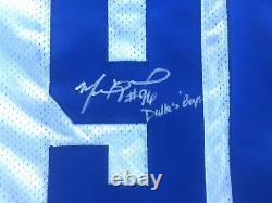MARCUS SPEARS 2010 Game Used Dallas Cowboys Jersey 50th Patch AUTOGRAPHED
