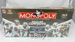 MONOPOLY Dallas Cowboys Collector's Edition NFL Complete Set NEW AND SEALED