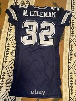 Marcus Coleman Dallas Cowboys game issued Jersey- Prova