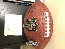 Miles Austin Signed Game Used Dallas Cowboys Football