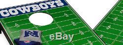 NFL Dallas Cowboys Tailgate Bean Bag Toss Cornhole Board Sport Game Play Toy Set