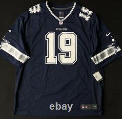 New Men's Dallas Cowboys Amari Cooper #19 Nike Game Jersey Sty 180710022 Sz 3XL