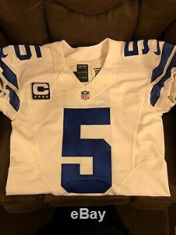 Nike 2016 Dallas Cowboys Game Issued Game Worn Jersey 5 Dan Bailey