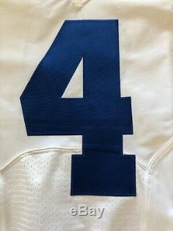Nike 2016 Dallas Cowboys Game Issued Jersey 4 Dak Prescott