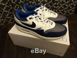 Nike Air Max 1 Nike By You Size 11 Game Royal/White/Navy Dallas Cowboys