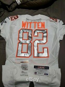 REDUCED Dallas Cowboys Jason Witten Game Issued Signed Pro Bowl Jersey NFL jsa