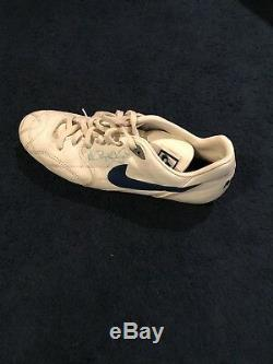 Rare Game Used Michael Irvin Cleat Dallas Cowboys Signed Jsa
