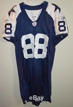 Reebok Authentic Dallas Cowboys Dez Bryant Thanksgiving Pro Cut Game Jersey 54+6