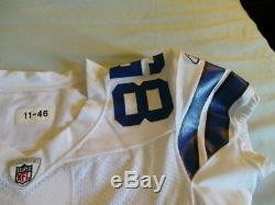 Reebok Game Issued Authentic Dallas Cowboys Kevin Ogletree Jersey USA Ripon NEW