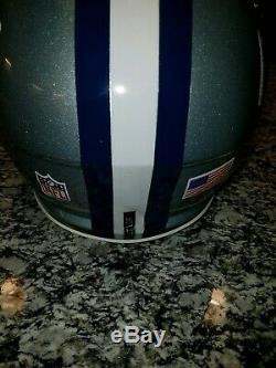 Riddell Speed Dallas Cowboys Byron Jones Game Worn Helmet