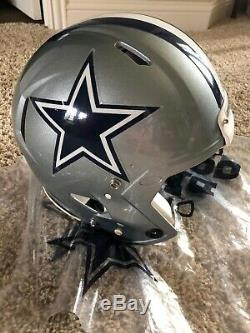 Riddell Speed Dallas Cowboys David Irving Game Worn Helmet