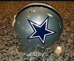 Riddell Speed Dallas Cowboys Lance Dunbar Game Worn Helmet