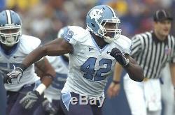Robert Quinn (Dallas Cowboys) 2008 Game Used North Carolina Football Jersey