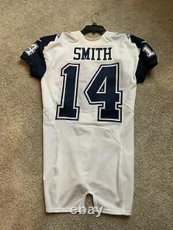 Rodney Smith Game/Team Issued Dallas Cowboys Nike Color Rush Jersey