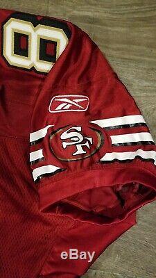 San Francisco 49ers Antonio Bryant Game Jersey 2006 Reebok Niners 81 50 comeback