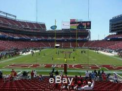 San Francisco 49ers NFC Championship Game- 2 tickets Section 103 Row 32